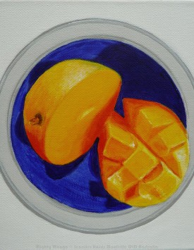 Mighty Mango painting