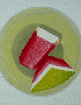 Watermelon Wedges painting